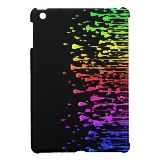iPad Mini Case Colourful Rain