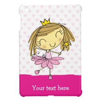 ♥ iPAD MINI CASE ♥ Cute Pink Princess ballet fairy