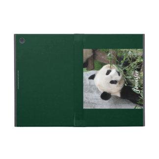 iPad Mini Case, Giant Panda, Green Case For iPad Mini