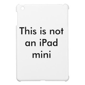 iPad mini case or is it