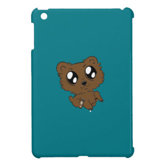 Ipad mini case with cartoon bear