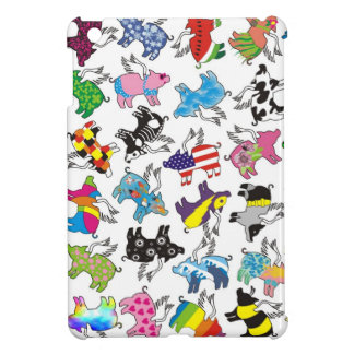 ipad mini case with flying pigs