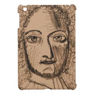 iPad Mini Case with Sepia Portrait
