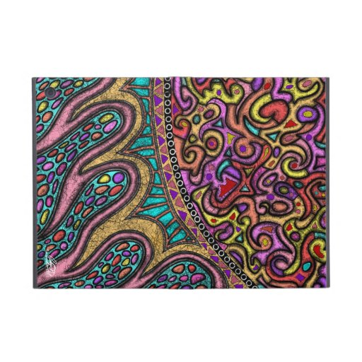 """Ipad mini cover """" Encroaching Warmth"""" by Angie"""
