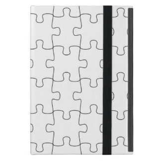 iPad mini covering with motive for puzzle Cases For iPad Mini