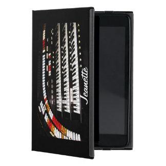 iPad Mini Folio Case, Antique Organ, Black Back iPad Mini Covers