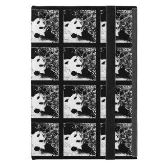 iPad Mini Folio Case, Giant Panda, Pop Art B&W iPad Mini Covers