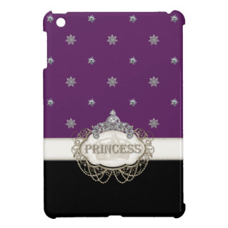 Ipad Mini  Princess Jewel Bling Crown Personalized iPad Mini Cover