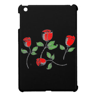Ipad Mini QPC Skin with Rose Art iPad Mini Cover