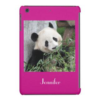 iPad Mini Retina Case Giant Panda Pink Background