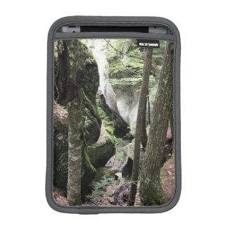iPad mini sleeve, beautiful picture of the woods iPad Mini Sleeve