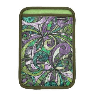 iPad Mini Sleeve Drawing Floral