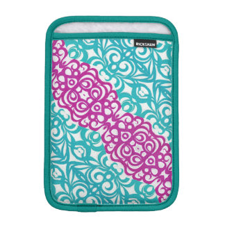 iPad Mini Sleeve Floral abstract background