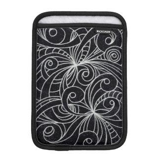 iPad Mini Sleeve Floral Doodle Drawing