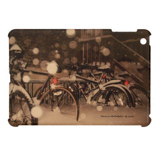 iPad Mini with winter picture iPad Mini Cases