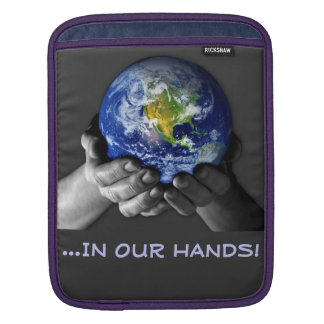 iPAD SLEEVE- EARTH HANDS iPad Sleeve