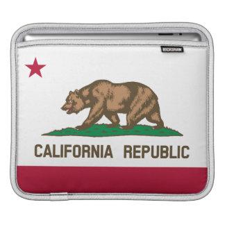 iPad Sleeve - Flag of California Republic