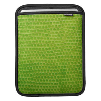 iPad Sleeve -  Green Boa Snakeskin