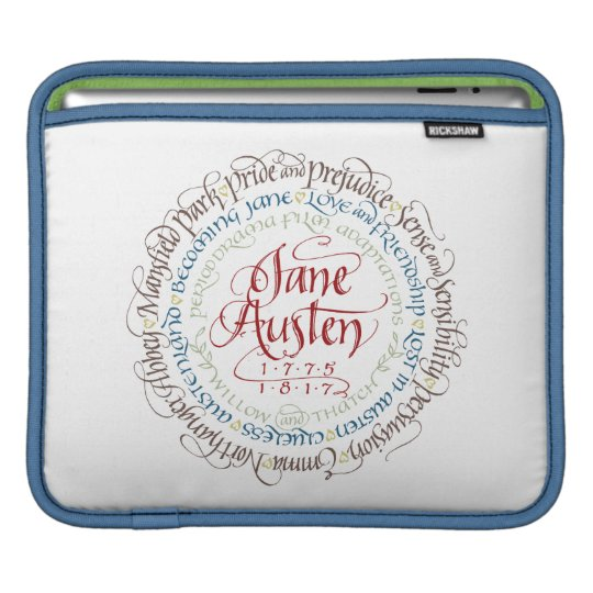 iPad Sleeve - Jane Austen Period Drama Adaptations