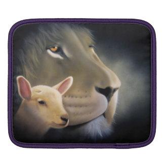 Ipad sleeve Lion and the Lamb