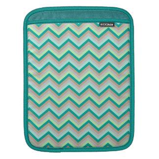 iPad Sleeve Retro Zig Zag Chevron Pattern
