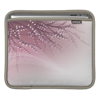 iPad sleeve with blossom willow branches