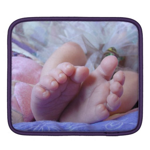 iPAD sleeves New Baby Photo Infant toes Feet