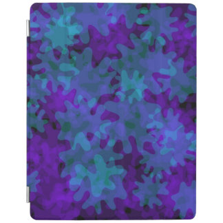 ipad smart cover blue and purple iPad cover