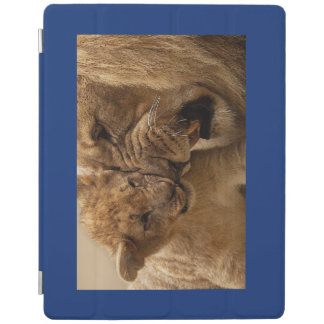 iPad Smart Cover HAPPY BABY ANIMALS LION AND CUB