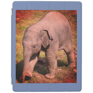 iPad Smart Cover HAPPY BABY ANIMALS WITH ELEPHANT iPad Cover