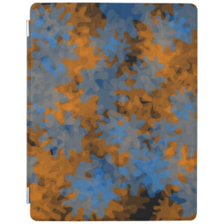ipad smart cover orange blue iPad cover