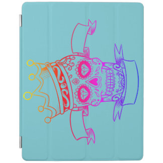 iPad Smart Cover SKULL WITH CROWN