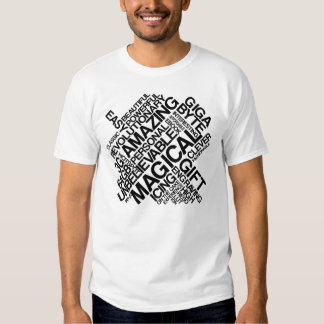 iPad Typography T-shirts