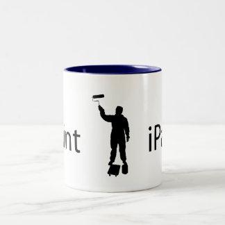 iPaint Two-Tone Mug