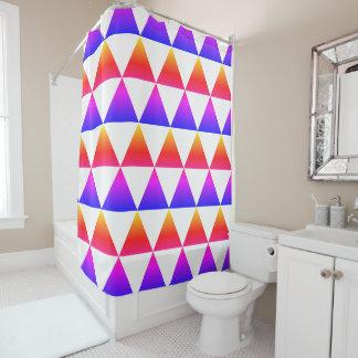 Ipanema Triangle Pattern Shower Curtain