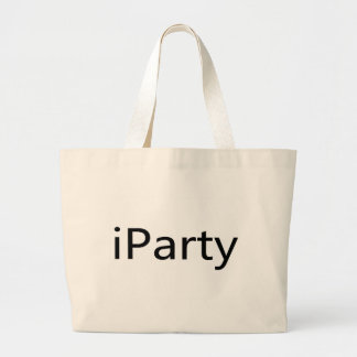 iParty Canvas Bag