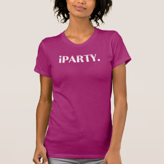 iPARTY FUNNY T-SHIRT
