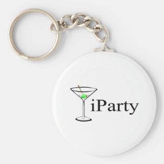 iParty (Martini) Keychain