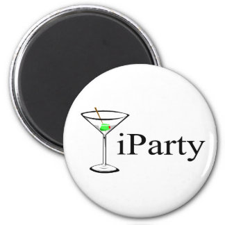 iParty (Martini) Refrigerator Magnet