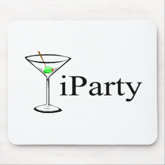 iParty Martini Mousepads