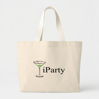 iParty Martini Tote Bag