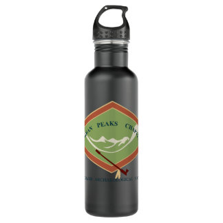 IPCAS Matte Black Water Bottle