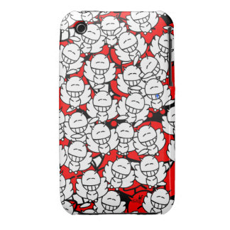 Iphone3 - Alien Snowboards Angel - red iPhone 3 Case-Mate Case