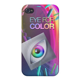 iPhone4/4s Eye for Color Basic Case Covers For iPhone 4