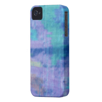iphone4 4S-Textile Blue Silk iPhone 4 Cover