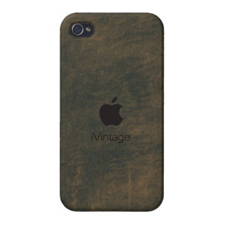 iPhone4 case - iVintage (blue) iPhone 4/4S Covers