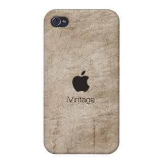 iPhone4 case - iVintage (white) iPhone 4/4S Cover