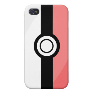 iPhone4 Case - Red and White iPhone 4 Cases