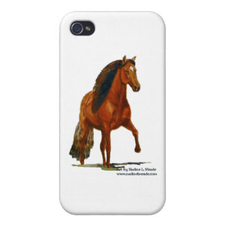 iPhone4 Case, Red Peruvian Paso Covers For iPhone 4