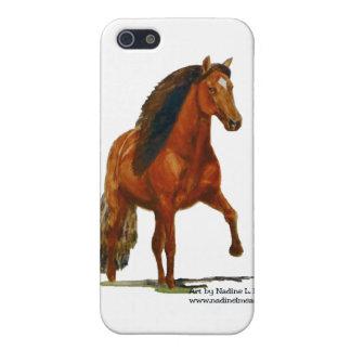 iPhone4 Case, Red Peruvian Paso iPhone 5 Case